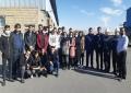 دانشجویان مکانیک از کارخانه ذوب فلزات یزد بازدید نمودند